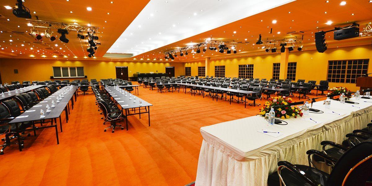 victoria ball rooms meeting setup