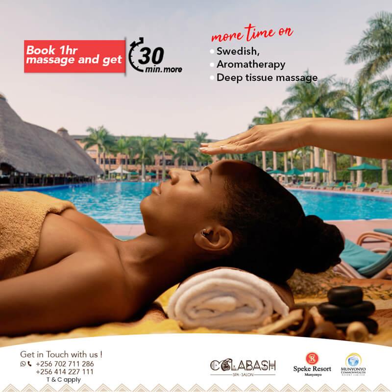 Munyonyo Commonwealth Resort Massage