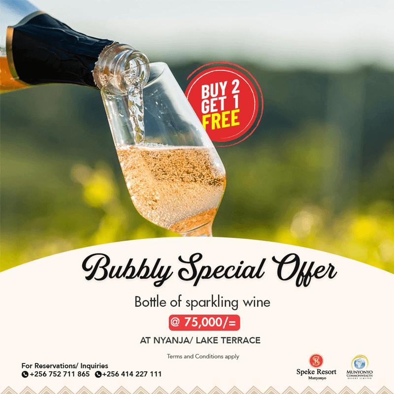 Speke Resort Bubbly Wine